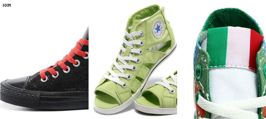 converse green day dos