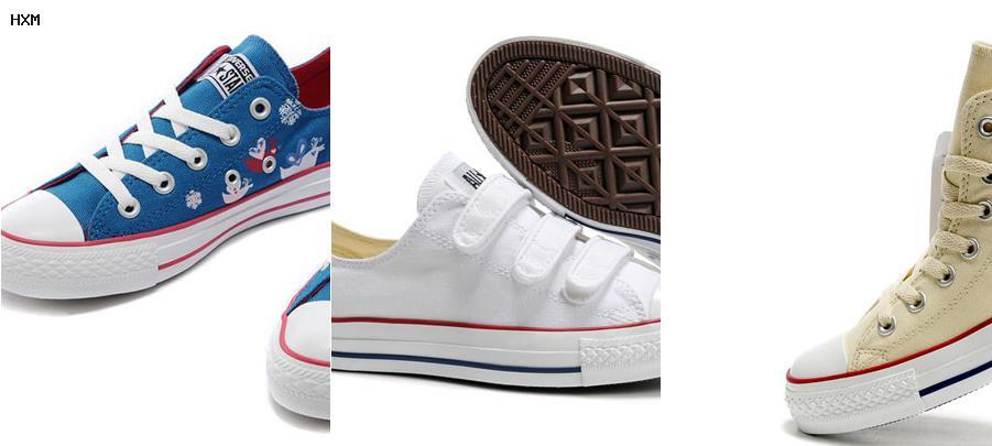 equivalencia talla calzado converse