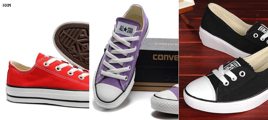 tennis converse mujer