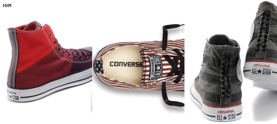 ver fotos de zapatillas converse