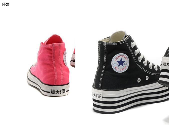 zapatillas converse all star piel