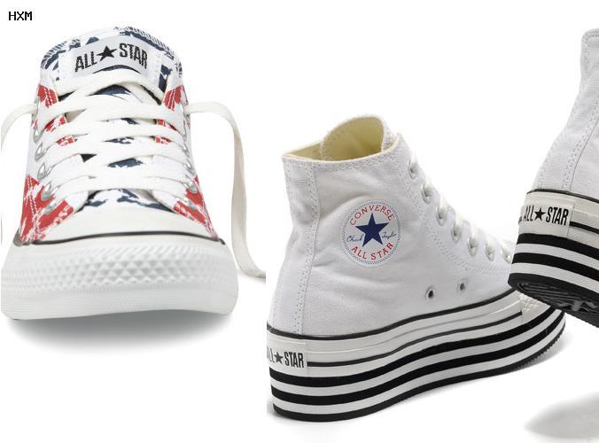 zapatillas de cuero converse all star