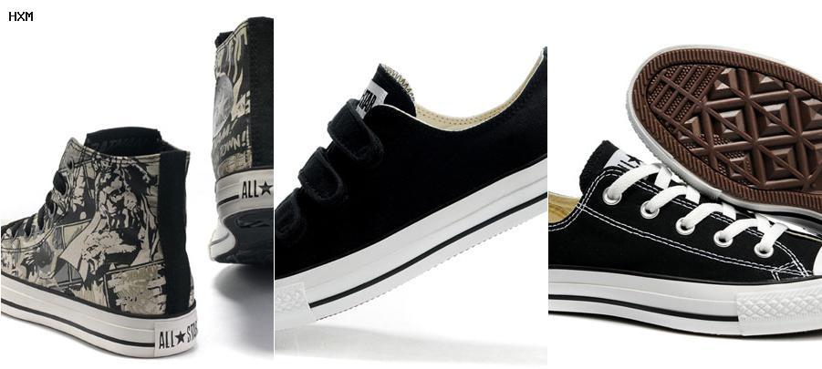 zapatos converse el salvador
