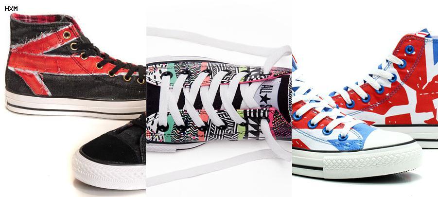 zapatos deportivos converse